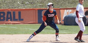 SU ranks third nationally in batting average and on base percentage, but patience proved to be a major key on Tuesday night.