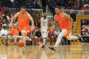 Boeheim's Army's summer season came to a close Tuesday night against the defending champion, Overseas Elite.