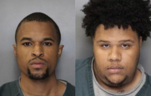 Cameron Isaac, left, and Ninimbe Mitchell, right, were convicted of first-degree murder and first-degree robbery, respectively, in connection to the death of SU student Xiaopeng