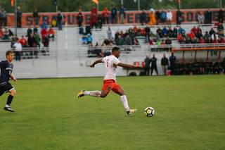 Pieles also assisted on the Orange's final goal in the 19th minute. He crossed the ball into the box where Buchanan took the ball in the air and headed it into the back of the net.