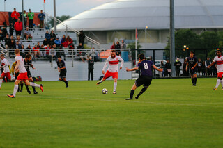 SU earned 12 corner kicks to three for the Wildcats.