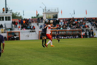 """That's Syracuse soccer in that first 30 minutes,"" Syracuse head coach Ian McIntyre said of SU's hot start to the game."