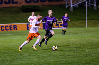 Buchanan leads SU with five points this season, including two goals.